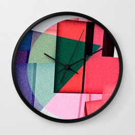 a lid fits on each pot Wall Clock