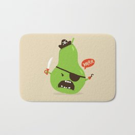Pear-ate a.k.a The Angry Pirate Bath Mat