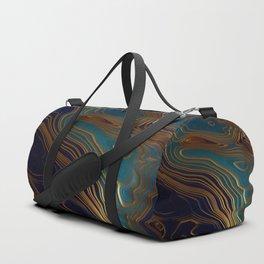 Peacock Ocean Duffle Bag