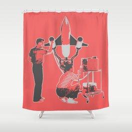 Make it Work Shower Curtain