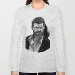 Old man Logan no.01(Hugh jackman) Long Sleeve T-shirt