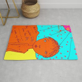 Itch in Colour Rug