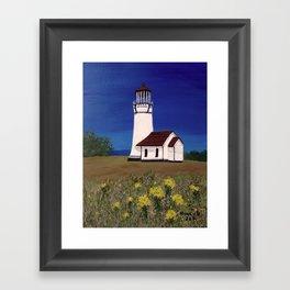 Cape Blanco lighthouse/ Oregon Framed Art Print