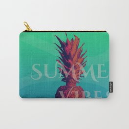 Summertime and pinapple Carry-All Pouch