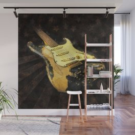 My AMERICAN RELIC STRATOCASTER® Custom Shop Wall Mural
