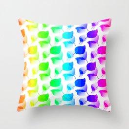 Columns Of Color Throw Pillow