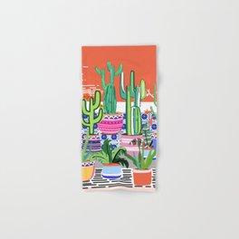 Cactus Window Hand & Bath Towel