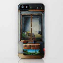Light from the other side iPhone Case
