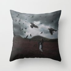 SHIELD THE LAND Throw Pillow