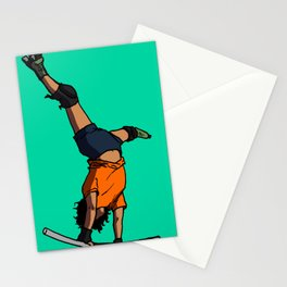 Death by Drop In Stationery Cards