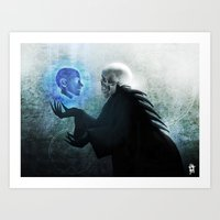 hamlet Art Prints featuring Hamlet by Fabrice Gagos