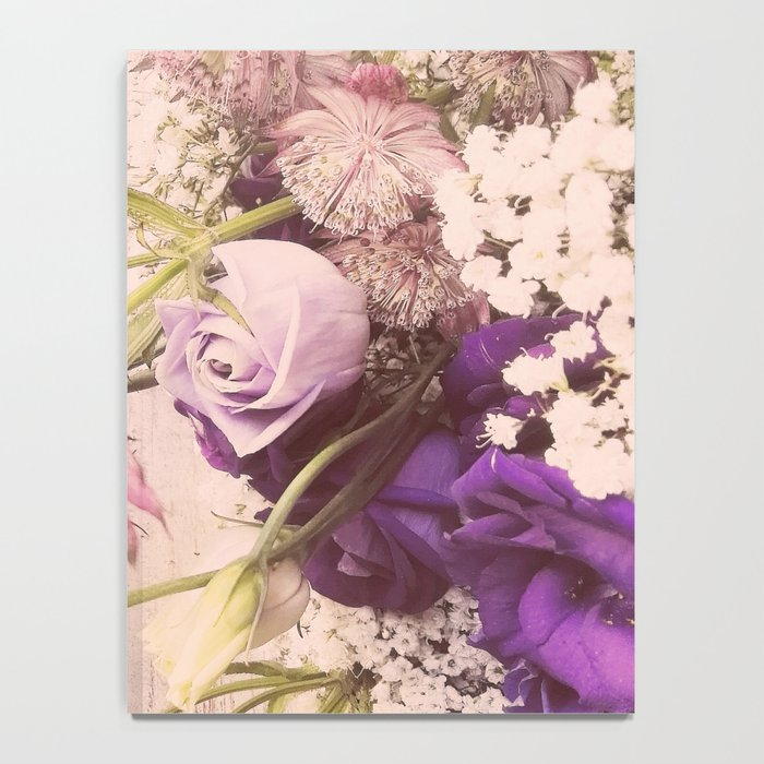 Gorgeous Vintage Floral Notebook