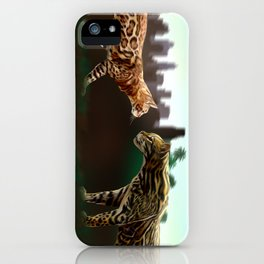 Meet the wild brother iPhone Case