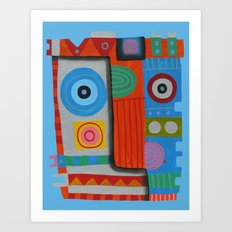 Your self portrait Art Print