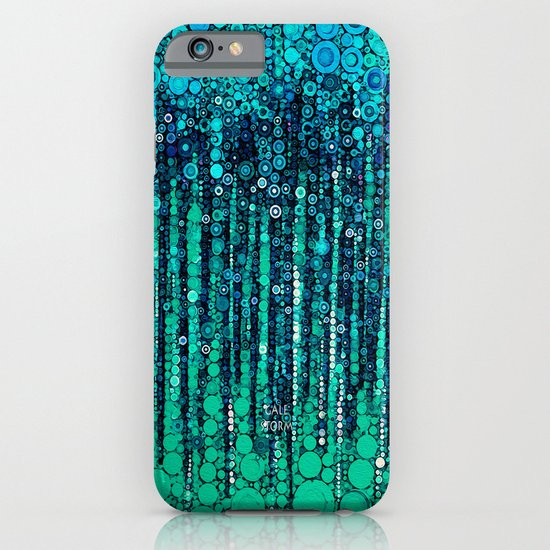 :: Blue Ocean Floor :: iPhone & iPod Case