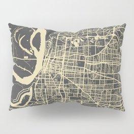 Memphis map Pillow Sham