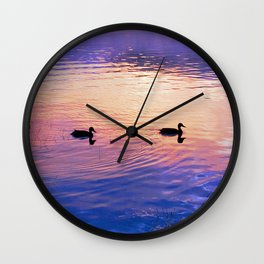 Morning Meditation (Sunrise) Wall Clock