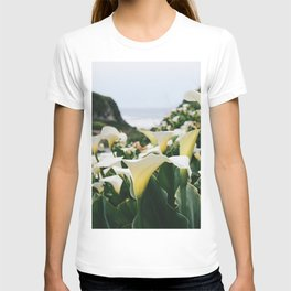 In the Flowers T-shirt