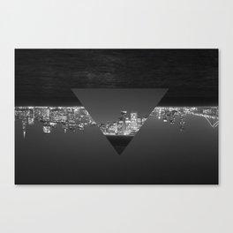 SF upside down Canvas Print