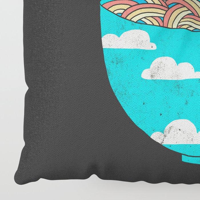 Rain-Bowl Floor Pillow