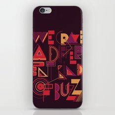 A Different Buzz iPhone & iPod Skin