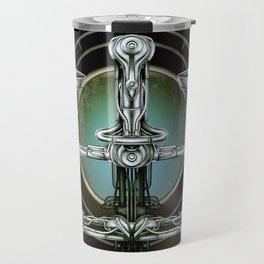 """Astrological Mechanism - Libra"" Travel Mug"