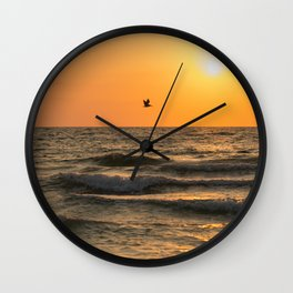Against the Wind Wall Clock
