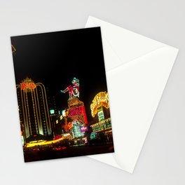Las Vegas Lights Stationery Cards