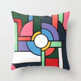 A Study for The Foolishness of Protectionism Throw Pillow