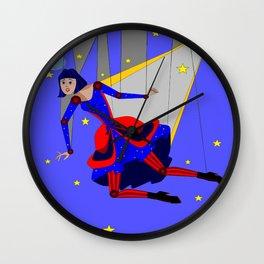 Lady Puppet, Steampunk Style Wall Clock