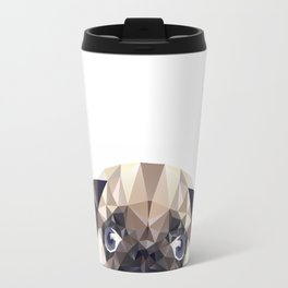 Pug Diamonds Travel Mug