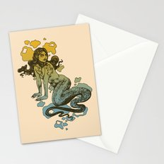 Lamia Yellow and Blue Stationery Cards