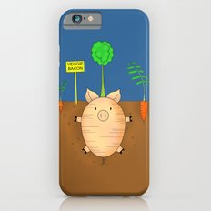 Veggie bacon iPhone 6s Slim Case
