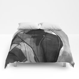 Abstraction 317K by Kathy Morton Stanion Comforters
