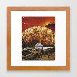 UNTITLED (VACANCY zine) Framed Art Print