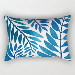 Tropical Blues Rectangular Pillow