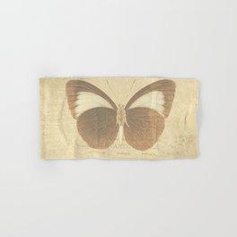 Vintage Paris Butterfly Hand & Bath Towel