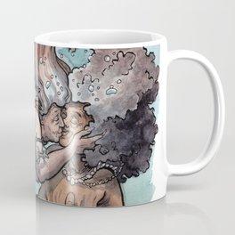 Old lady mermaids smooching Coffee Mug