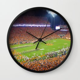 Clemson Memorial Stadium Wall Clock