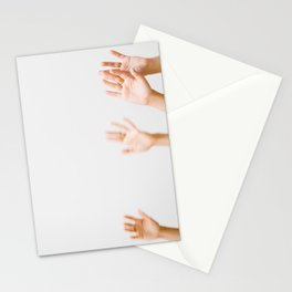 Wave Your Hands Stationery Cards