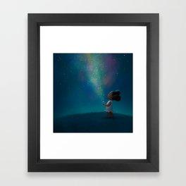 Wish Jar Framed Art Print