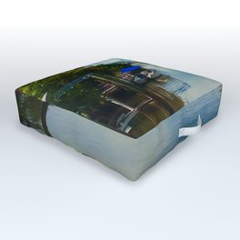 Peaceful Relection Outdoor Floor Cushion