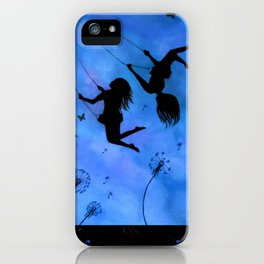 Free As The Wind iPhone Case