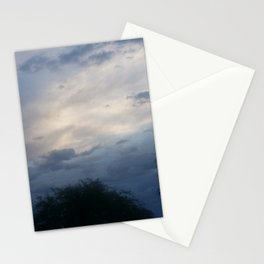 Gloomy Trees Stationery Cards