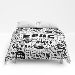 Rap lyrics Comforters