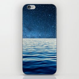 Sailing into space iPhone Skin