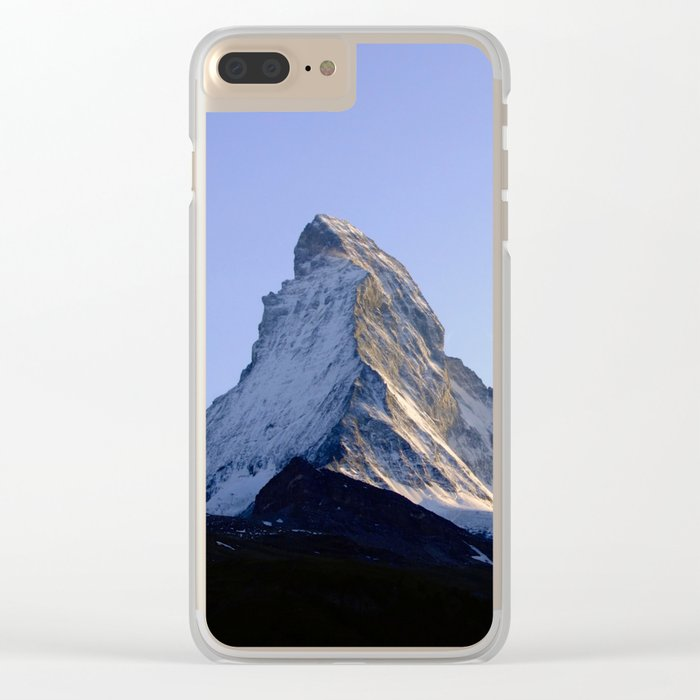 Cut the sky open Clear iPhone Case