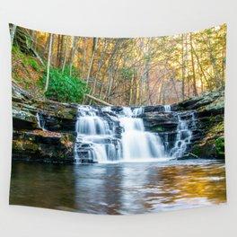 Fall Falls Wall Tapestry