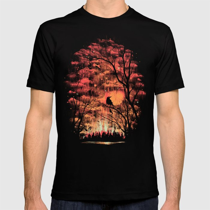 Burning In The Skies T-shirt