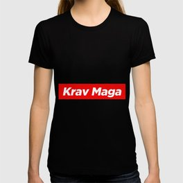 Krav Maga Martial Art Style Fighter T-shirt